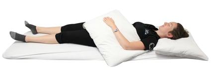position sommeil dos bras