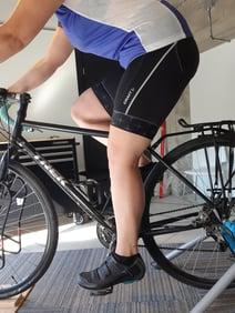ajustement vélo pédalier selle