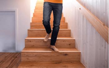 exercice escaliers à la maison