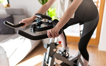 exercice vélo à la maison